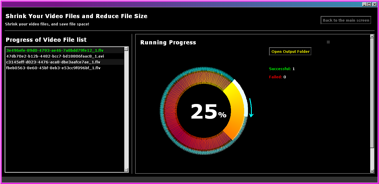 deepnut video progress wheel screenshot